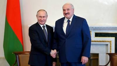 5 часов 20 минут: в Петербурге завершились переговоры Путина и Лукашенко