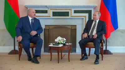 Переговоры Путина и Лукашенко продлились более 5 часов