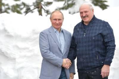 Завершились переговоры Путина и Лукашенко