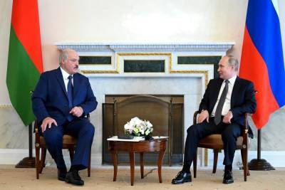 Кремль сообщил о завершении переговоров Путина и Лукашенко