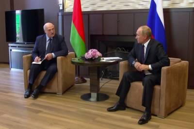 Переговоры Путина с Лукашенко завершились