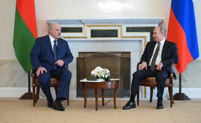 В Петербурге завершились переговоры Путина и Лукашенко