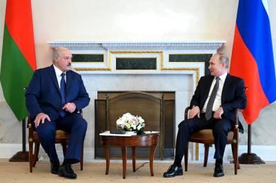 Переговоры Путина и Лукашенко в Петербурге продлились больше пяти часов