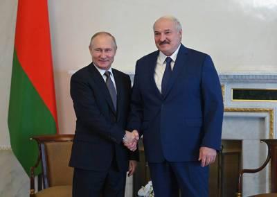 В Кремле подвели итоги встречи Путина и Лукашенко