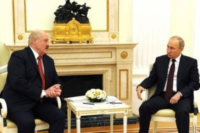 Путин и Лукашенко договорились о цене на газ для Белоруссии на 2022 год