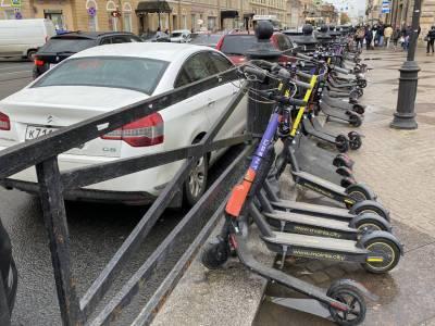Петербургский Комтранс опубликовал новые правила проезда на электросамокатах