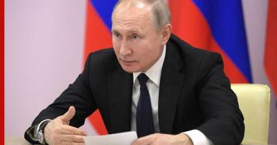 """Дискуссия с Украиной и проект """"анти-Россия"""": что говорил Путин о своей статье"""