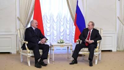 Переговоры Путина и Лукашенко продлились почти шесть часов