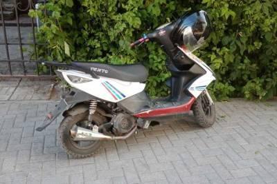 Рязанская полиция задержала 17-летнего водителя мопеда без прав