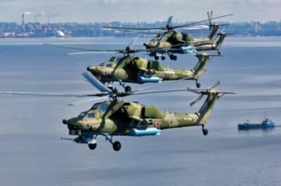 В Санкт-Петербурге прошла первая тренировка авиации перед парадом