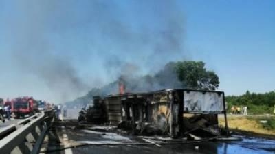 Житель Пензенской области погиб в горящем грузовике
