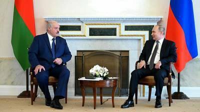 В Минске раскрыли темы переговоров Путина и Лукашенко