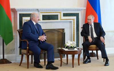 Минск раскрыл детали переговоров Путина и Лукашенко