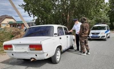 """Под Тюменью поймали подростка без прав за рулем """"Жигулей"""""""