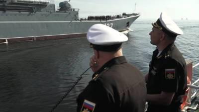 Вести в 20:00. В Петербурге прошла летная репетиция парада ко Дню ВМФ