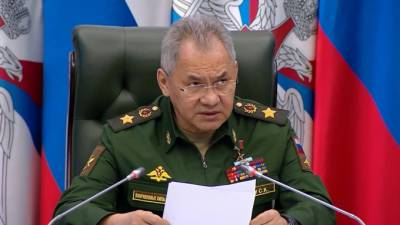 Шойгу: ВС РФ имеют самый высокий процент новой военной техники среди армий мира