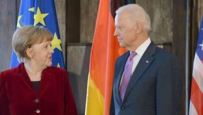 """Байден и Меркель примут по итогам встречи """"Вашингтонскую декларацию"""""""
