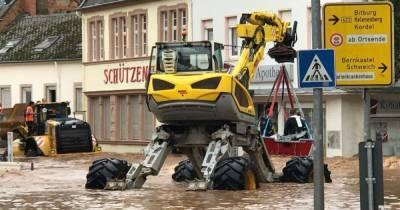Потоп в Германии: число жертв возросло до 42 человек (видео)