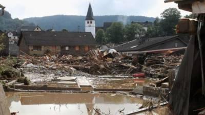 В Германии и Бельгии сокрушительное наводнение, число жертв растет (видео)
