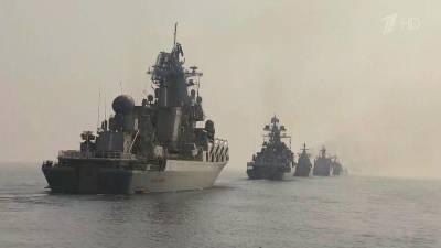 Все больше внимания к Главному военно-морскому параду, до которого осталось 10 дней