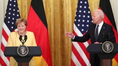 США и ФРГ заявили о намерении защищать суверенитет Украины