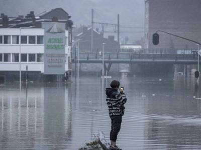 Число жертв наводнения на юге Бельгии возросло до 11