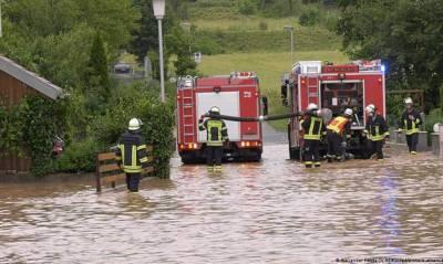 Число жертв наводнения в Германии уже приближается к сотне