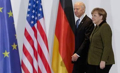 Вести (Украина): «Северный поток — 2», Украина и санкции — итоги встречи Байдена и Меркель