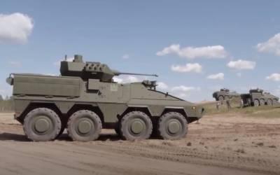 Литва получила израильские ПТУР Spike LR для оснащения БТР Vilkas