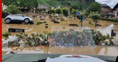 Режим военной катастрофы из-за наводнений ввело Минобороны ФРГ