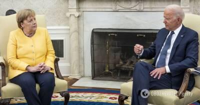 Переговоры Байдена и Меркель итоги – о чем договорились, что ждет Украину