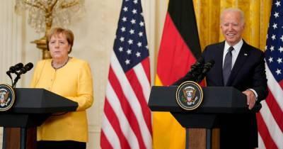 Киев посетовал на неинтересную беседу Байдена и Меркель
