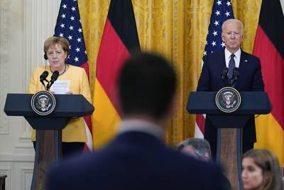 В Киеве раскритиковали итоги переговоров Байдена и Меркель