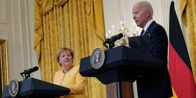 Киев раскритиковал переговоры Байдена и Меркель по СП-2
