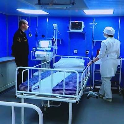 Авиация Минобороны начала переброску в Хакасию мобильного госпиталя