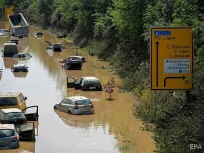 Число жертв наводнения в Германии возросло до 156 человек