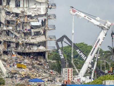 Число жертв обрушения дома в Майами увеличилось до 97 человек, опознаны не все