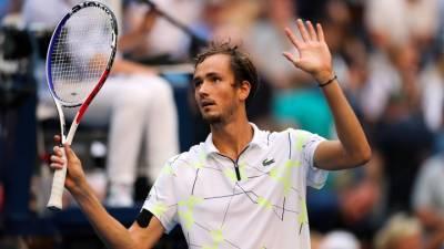 Даниил Медведев сохранил вторую позицию в рейтинге ATP
