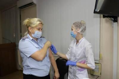50% рязанских полицейских вакцинировано от COVID-19