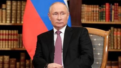 Путин выразил соболезнования королю Бельгии из-за наводнений в стране