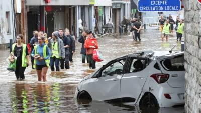 Путин выразил соболезнования королю Бельгии из-за последствий наводнений