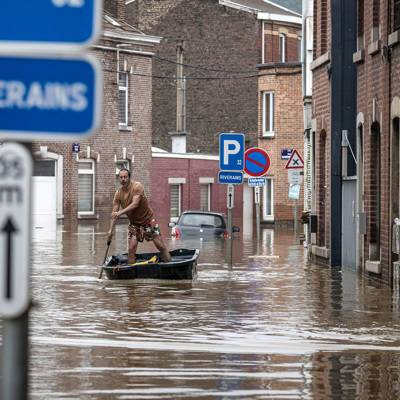 Путин выразил соболезнования королю Бельгии в связи с последствиями наводнений