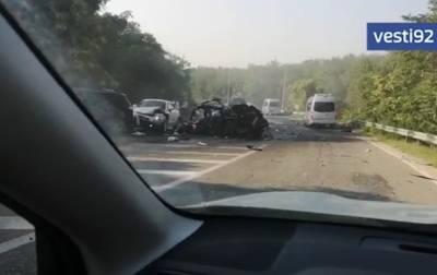 На трассе Ялта-Севастополь в ДТП погибли пять человек