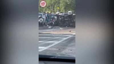 """В ДТП с """"Камазом"""" в Севастополе погибли пять человек"""