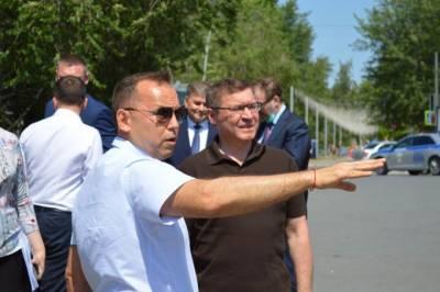 Шумков попросил у полпреда денег на расчистку русла курганских рек