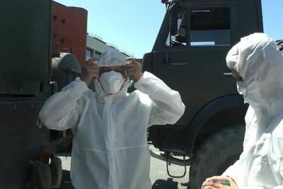 Военные показали, как прошла обработка Артека после коронавируса
