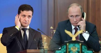 В Кремле заявили, что встреча Путина и Зеленского не готовится