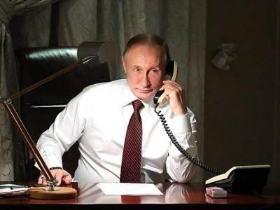 Путин заявил Макрону, что Россия готова возвратиться к диалогу с ЕС