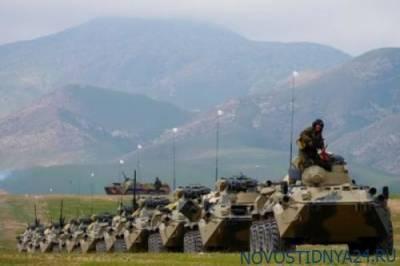 Российские военные прибыли на полигон у границы с Афганистаном