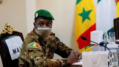 Напавших на временного президента Мали задержали